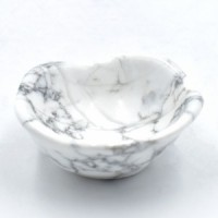 Howlite White Bowls wholesale crystals stones