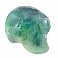 Crystal Carvings Australia Wholesale Crystal Skull Rainbow Fluorite