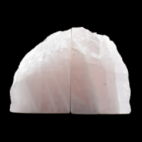 Rose Quartz Bookends crystal wholesalers