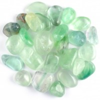 Wholesale Crystals Online Tumbled green fluorite