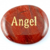 Crystals Wholesale Sydney Polished Crystal Word Stone Angel  074 (8)