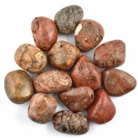 Wholesale Crystals Adelaide Tumbled Coral Red