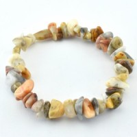 crystal wholesalers agate crazy lace yellow bracelet  (1)