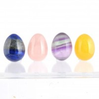 wholesale crystals online healing shape crystal egg mini