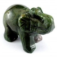 Crystals Australia Wholesale Polished Animal Carving elephant Bloodstone