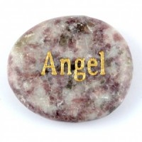 Crystals Wholesale Sydney Polished Crystal Word Stone Angel  074 (11)