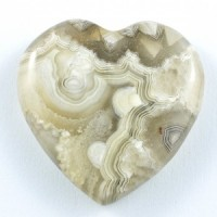 Crystal Carvings Wholesale Australia Crystal Heart Agate Crazy Lace White