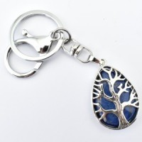 Crystal Keyring Tree of Life Wholesale Stones Australia