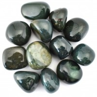 Tumbled Bloodstone Green Wholesale Crystals and Stones