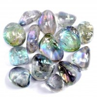 Crystal Wholesale Australia Sydney Tumbled Crystal Blue Laser Crystal