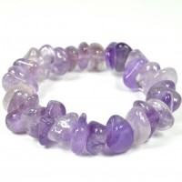Jewellery Crystal Tumbled Bracelet Wholesale amethyst