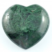 Crystal Carvings Wholesale Australia Crystal Heart Agate Moss