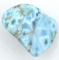 Larimar  'A' Tumbled Crystals wholesale crystals and stones