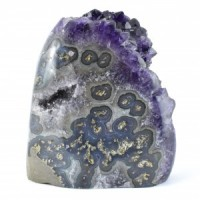 natural crystal wholesale amethyst cluster standing (52)