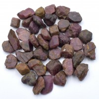 30-55 Pack of Ruby Red Natural Specimens