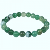 Green Agate Bracelets wholesale crystals and stones