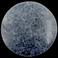 White Selenite Crystal Charging Plate Round