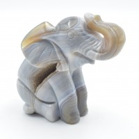 Elephant Agate Natural Animal Carvings wholesale crystals online