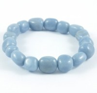 Natural Wholesale Crystals Australia Tumbled Bracelet Angelite