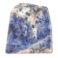 Sodalite Slabs Crystal Polished Pieces