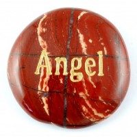 Crystals Wholesale Sydney Polished Crystal Word Stone Angel  074 (9)