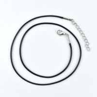 crystal wholesalers black cord necklace (5)