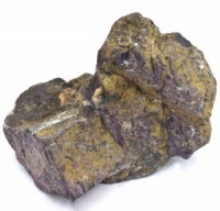 Purpurite Rock Large simply crystals of the world