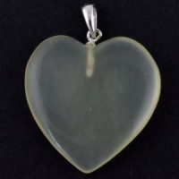 Wholesale Crystals Online Hearts Pendant Jade New