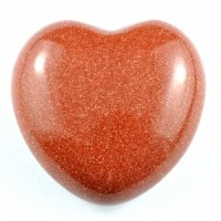 Crystal Carvings Wholesale Australia Crystal Heart goldstone