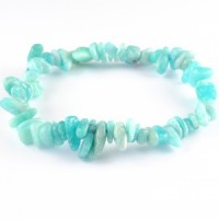 Sydney Australia Crystals Wholesale Natural Crystal Chip Bracelet amazonite