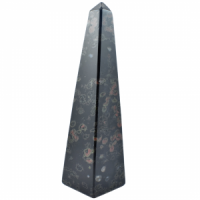 Obsidian Snowflake Red Obelisks crystals and stones wholesale