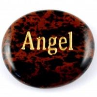 Crystals Wholesale Sydney Polished Crystal Word Stone Angel  074 (12)