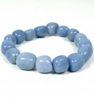 Jewellery Crystal Tumbled Bracelet Wholesale angelite