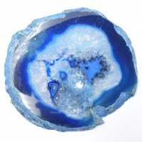 Agate Blue '5' Agate Slices wholesale crystals stones