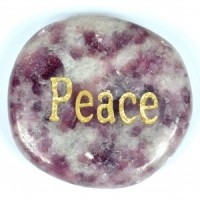 Crystals Australia Wholesale Polished Crystal  Wordstone Peace