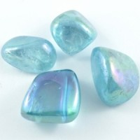 Natural Crystals Wholesale Sydney Australia Tumbled Aura Aqua