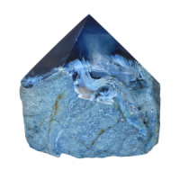 Blue Agate Top polished Generators crystals wholesale