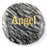 Crystals Wholesale Sydney Polished Crystal Word Stone Angel  074 (6)