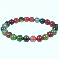 Coloured Mixed Agate Bead Bracelets wholesale crystals adelaide