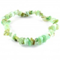 Sydney Australia Crystals Wholesale Natural Crystal Chip Bracelet chrysocolla