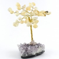 Wholesale Natural Crystals Australia Crystal Trees citrine on amethyst