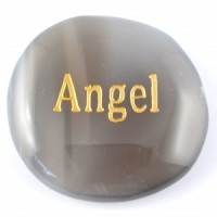 Crystals Wholesale Sydney Polished Crystal Word Stone Angel  074 (2)
