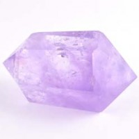 wholesale tumbled stones crystal Amethyst Double terminator generator