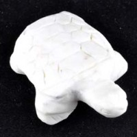 wholesale stones Crystal Carving Animal Turtle lemon chrysoprase