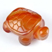 crystals wholesale Crystal Carving Animal Turtle Carnelian