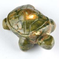 crystals and stones wholesale Crystal Carving Animal Turtle Rhyolite