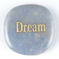 Crystal Wordstone Dream Blue Aventurine