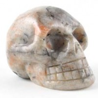 Crystal Skull Sunstone
