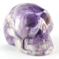 Wholesale Crystals Melbourne Crystal Skull Amethyst Chevron