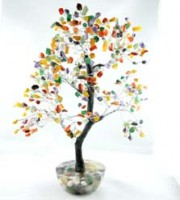 Crystal Wholesale Online Natural Crystal Tree Rainbow Crystals on Orgone Base